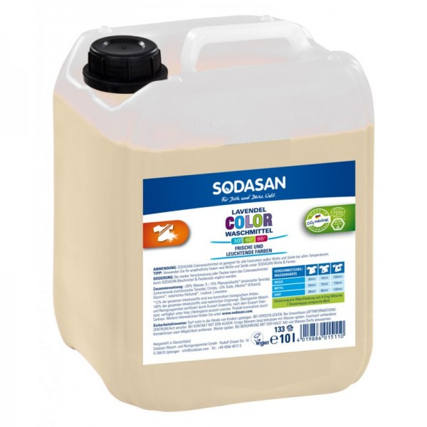 Sodasan ökologisches Color Waschmittel LAVENDEL 25 l Kanister