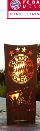 Feuerkorb FC Bayern Variante 2