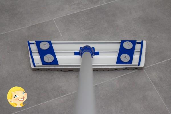 MR Flexible Blue inkl. 2 Fasern NEU Stiel mit Rutsch Bremse