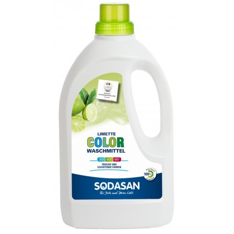 Sodasan ökologisches Color Waschmittel Limette NEu im Sortiment 1,5 l