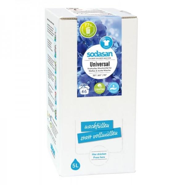 Sodasan Limetten Universalwaschmittel flüssig 20 l Bagin Box