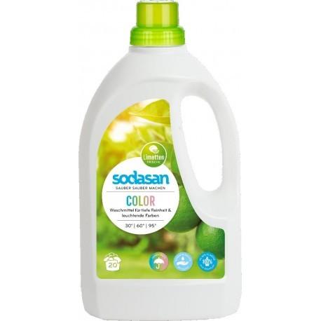 Sodasan Color Limette Flüssigwaschmittel 1,5 l