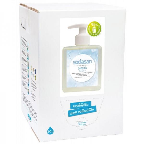 Sodasan sensitive Flüssigseife 20 l BaginBox-Copy