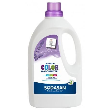 Sodasan Color Flüssig Waschmittel Lavendel 1,5 l-