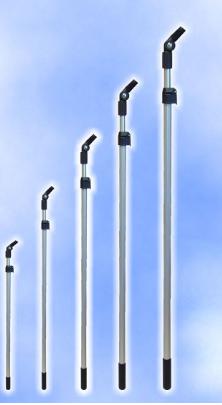 Teleskopstange 0,98-1,55 cm verlängerbar-