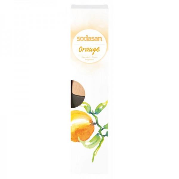 Sodasan Raumduft Orange inkl. Buchenholzsticks 200 ml