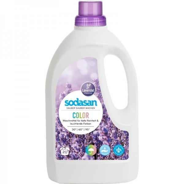 Sodasan Color Waschmittel flüssig Lavendel
