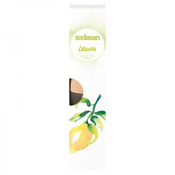 Sodasan Raumduft senses lemon 200 ml inkl. Holzsticks