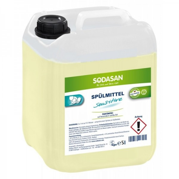 Sodasan Hand Geschirrspülmittel sensitiv 5 l Kanister