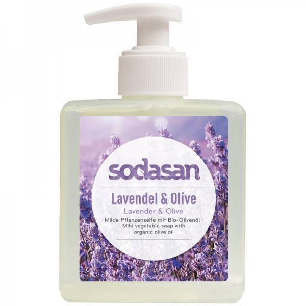 Sodasan Lavendel Olive Flüssigseife 300 ml