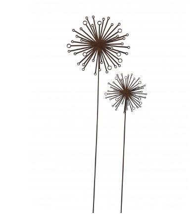 Edelrost Blume groß