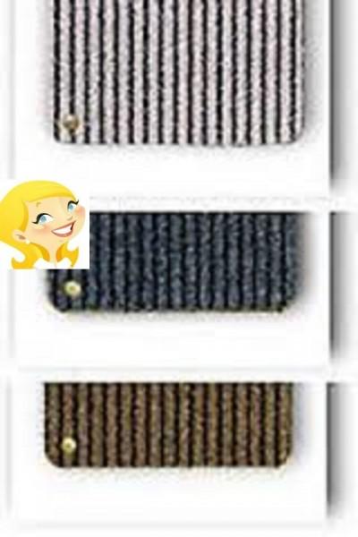 Ha-Ra Fußmatte soft 60 x 40 cm braun