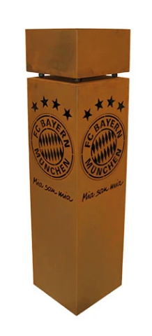 FC Bayern München Rostsäule inkl. Schale