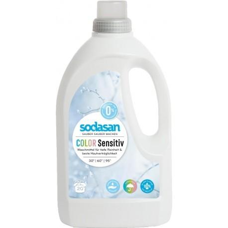 Sodasan Color sensitiv Flüssigwaschmittel 1,5 l