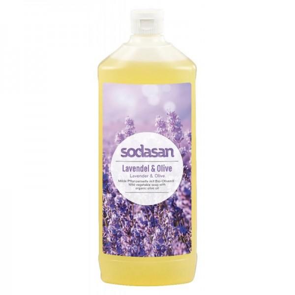 Sodasan Lavendel Olive Flüssigseife 1 l