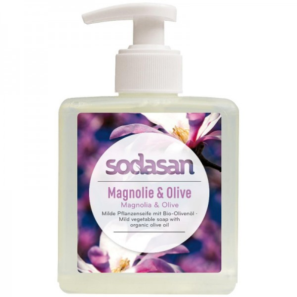 Sodasan Magnolie Olive Flüssigseife 300 ml