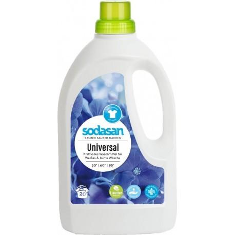 Sodasan Limetten Universalwaschmittel flüssig 1,5 l
