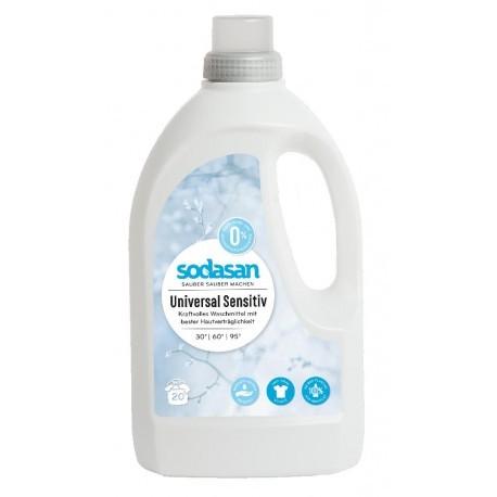 Sodasan Universalflüssigwaschmittel Sensitive 1,5 l